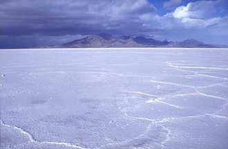 History of Utah - Bonneville Salt Flats