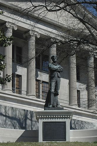 Sumner Archibald Cunningham - The Sam Davis Statue.