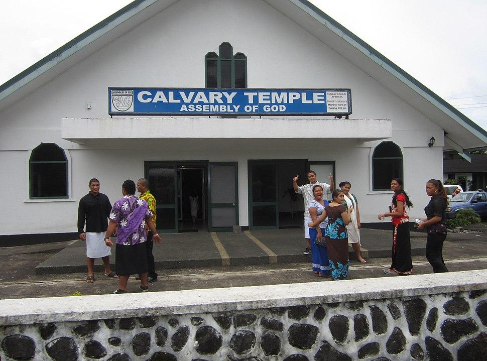 Samoan church 4