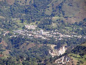San Mateo, Boyacá - View of San Mateo