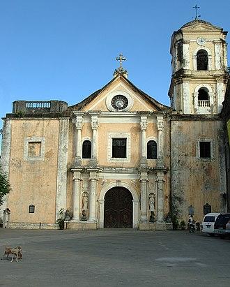 1880 Luzon earthquakes - Image: San agustin facade