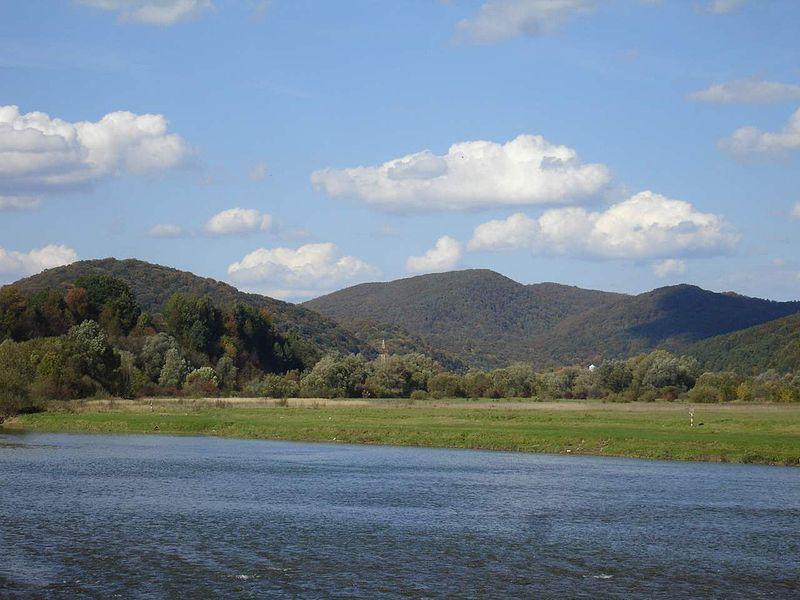 Plik:San river (Międzybrodzie near Sanok).jpg