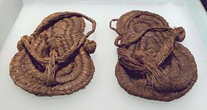 Shoe - Esparto sandals from the 6th or 5th millennium BC found in Spain