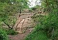 Sandstone rock at Kinver Edge - geograph.org.uk - 847988.jpg