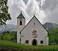 Sankt Martin Kirche in Ums Völs am Schlern Eingang.JPG