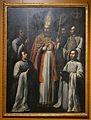Sant Joan de Ribera entre col·legials, Gaspar de la Huerta, Col·legi del Corpus Christi de València.JPG