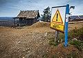 Santa's Cabin behind mountain biking track on Levi, Kittilä, Lapland, Finland, 2021 September.jpg
