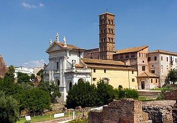 Santa Francesca Romana Forum Romanum Rome.jpg