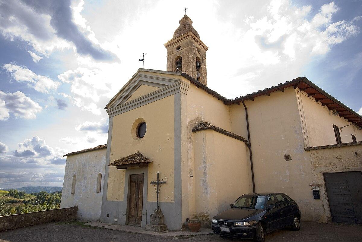 Chiesa Di Santa Cristina Montefiridolfi Wikipedia