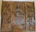 Santi buglioni, tabernacolo con madonna col bambino.JPG