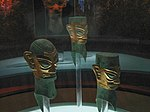 gold mask of sanxingdui,12th to 11th BCE century