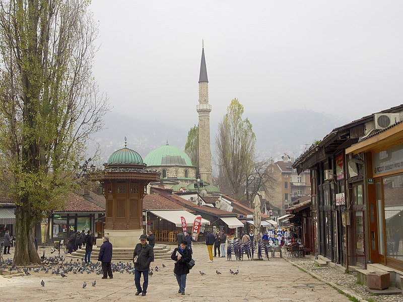 File:Sarajevo Capitol of Bosnia and Herzegovina (15840663480).jpg