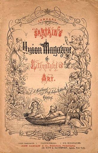 Annabel Lee - Sartain's Union Magazine of Literature and Art, January, 1850, Philadelphia