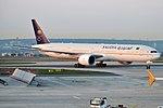 Saudia, HZ-AK41, Boeing 777-368 ER (47578736962).jpg