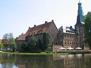 Hauptburg Schloß Raesfeld von Nord-West
