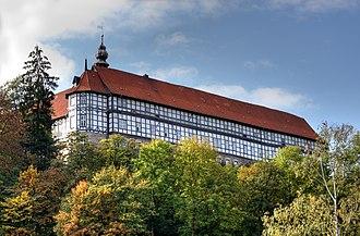 Herzberg Castle - The castle seen from Herzberg