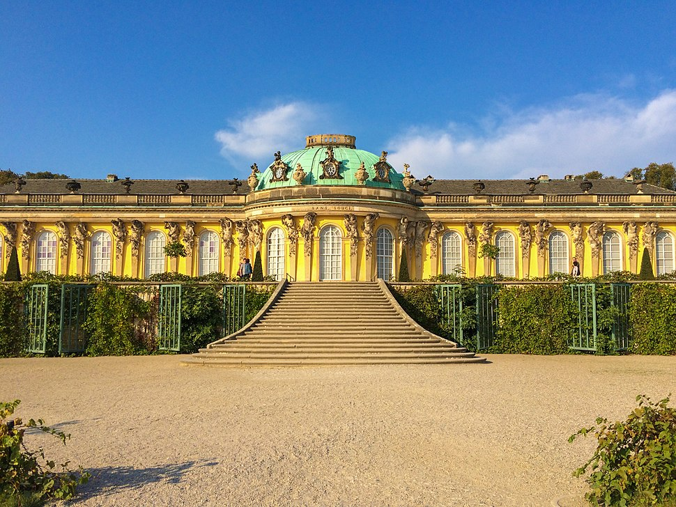 Schloss Sanssouci 2014