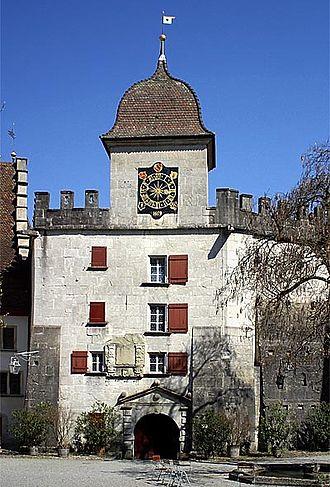 Lenzburg Castle - The east bastion