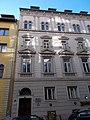 Schumy house (1898). Facade (E). - 10 Pauler Street, Budapest.JPG