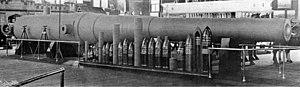 16-inch gun M1895 - Image: Scientific American Volume 91 Number 09 (August 1904) (1904) (14784412442)