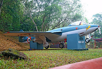 Hawker Sea Hawk - A Sea Hawk on static display at Jawahar BalBhavan, Trivandrum