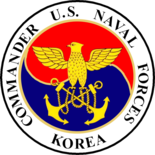 Seal of Commander, U.S. Naval Forces Korea (1999-2010)