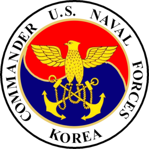 Commander Naval Forces Korea - Image: Seal of Commander, U.S. Naval Forces Korea (1999 2010)