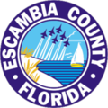 Siegel von Escambia County (Florida)