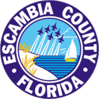 Escambia County, Florida - Image: Seal of Escambia County, Florida