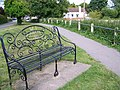 Seat by the River Avon - geograph.org.uk - 864110.jpg