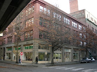 Seattle Daily Journal of Commerce - The Journal Building, associated with journalism at least since 1899 and home of the Bulletin / Journal at least since 1918. (Photographed 2007)