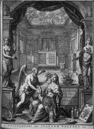 Albertus Seba - Image: Seba frontispice Thesaurus