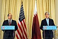 Secretary Kerry Holds a News Conference with Qatari Foreign Minister al-Attiyah (11929994274).jpg