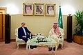 Secretary Kerry Sits with Foreign Minister al-Jubeir (31603350101).jpg