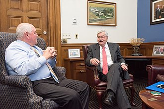 Terry Branstad - Branstad meeting with U.S. Secretary of Agriculture Sonny Perdue, May 30, 2017