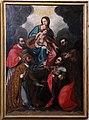 Seguace di santi di tito, Madonna con Bambino tra San Carlo Borromeo, San Biagio, Sant'Agata e San Francesco d'Assisi, 1650-90 ca.jpg