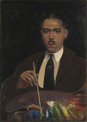 Archibald Motley - Self Portrait (1920)