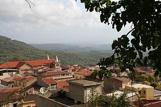 Seminara Comune in Calabria, Italy