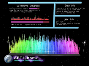 SETI@home - Image: Setiathomeversion 5point 15