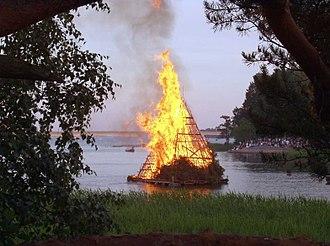 Seurasaari - Midsummer bonfire, Seurasaari