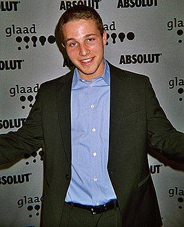 Shawn Pyfrom at 2007 GLAAD Awards.jpg