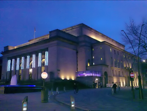 English: Sheffield City Hall, Sheffield, UK.