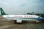 Shenzhen Airlines Boeing 737-300 (B-2687) in old livery.jpg
