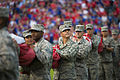 Sheppard Airmen support new recruits at Rangers game 150704-F-OP138-012.jpg