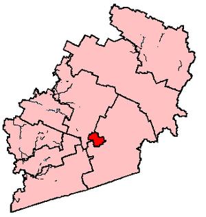 Sherbrooke (electoral district) - Image: Sherbrooke