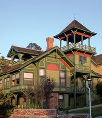 Heritage Park (San Diego) - Sherman Gilbert House