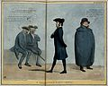 Shiel walks past two old sailors, one with a wooden leg, who Wellcome V0050245.jpg