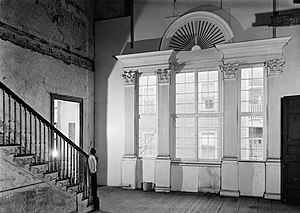 Shirley–Eustis House - Interior before restoration (1963)
