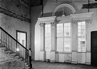 Shirley–Eustis House - Interior before restoration (1963)