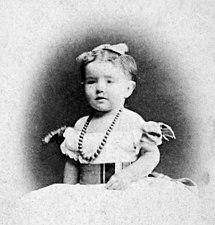 Alexandra Illarionovna nos primeiros anos de vida